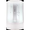 Душевая кабина AQUACUBIC 90х90х220 3102D fabric white