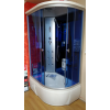 Душевая кабина AQUACUBIC 120×80×220 3306A L/R blue mirror